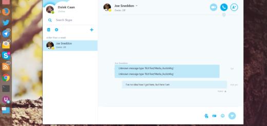 Альфа версія Skype для Linux