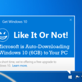 Microsoft is Auto-Downloading Windows 10 (6GB) to Your PC... Like It Or Not!