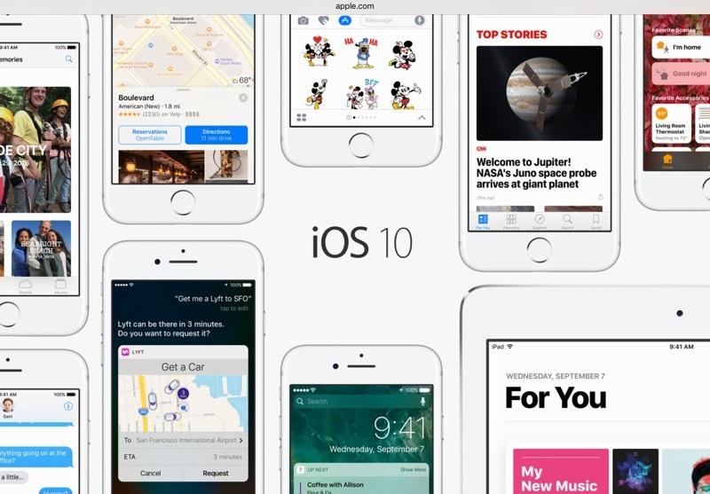 Огляд iOS 10 - що нового, переваги та недоліки